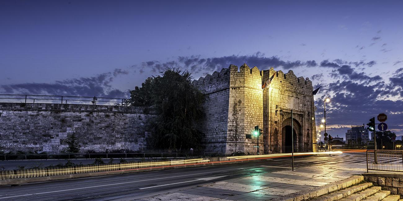 Nis Fortress at Night
