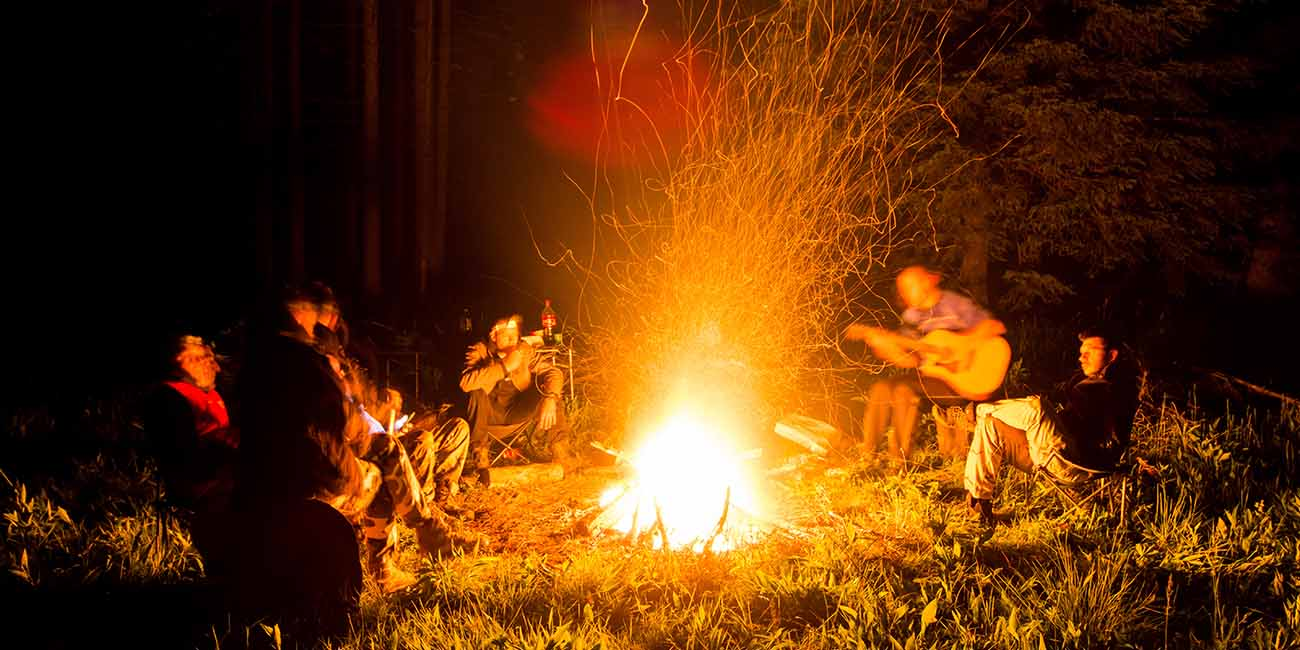 kampovanje na tari